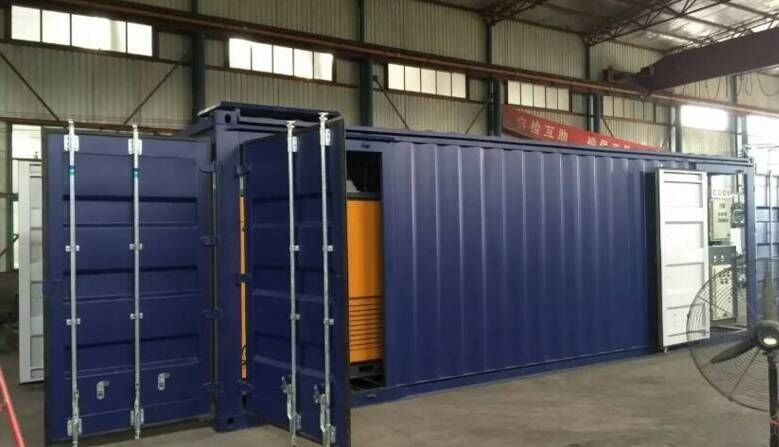 Removeable Onsite Nitrogen Generator , -50℃ Dew Point Nitrogen Gas System