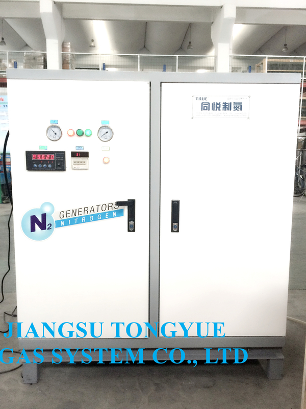 High Purity Small Nitrogen Generator 3-5 Nm3 / H Capacity Low Consumption