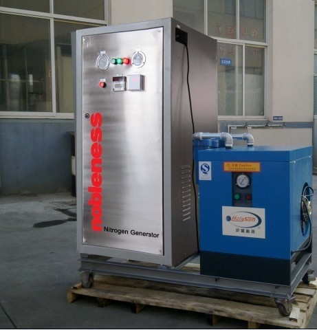 Stainless Steel PSA Nitrogen Generator 95%-99.99% For Cake / Biscuit